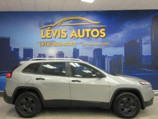 Used 2014 Jeep Cherokee 4X4 SPORT AIR CLIMATISE BLUETOOTH CAMERA for sale in Lévis, QC