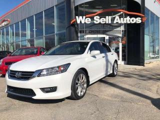 Used 2014 Honda Accord Sedan Touring 4dr FWD Sedan for sale in Winnipeg, MB