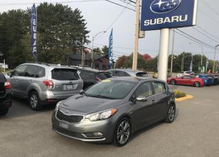 Used 2016 Kia Forte5 KIA Forte5, automatique, **EX** avec toi for sale in Victoriaville, QC