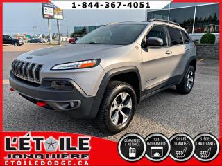 Used 2017 Jeep Cherokee Trailhawk Elite 4x4 V6 for sale in Jonquière, QC