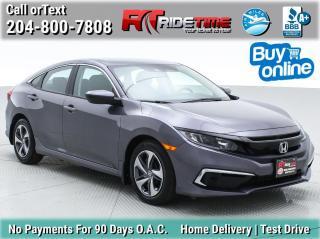 Used 2020 Honda Civic SEDAN LX for sale in Winnipeg, MB