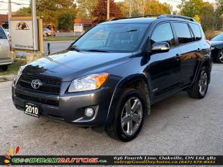 Used 2010 Toyota RAV4 Sport|LOW KM|NO ACCIDENT|SUNROOF|4WD|CERTIFIED for sale in Oakville, ON