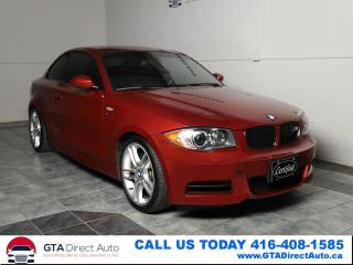Used 2008 BMW 1 Series 135i M-Sport 6-Speed Coupe Leather Xenon Certified for sale in Toronto, ON