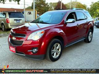 Used 2013 Chevrolet Equinox LTZ|LOW KM|NO ACCIDENT|SUNROOF|NAVI|AWD|CERTIFIED for sale in Oakville, ON