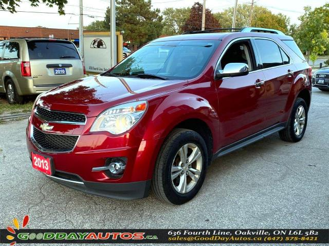 2013 Chevrolet Equinox LTZ|LOW KM|NO ACCIDENT|SUNROOF|NAVI|AWD|CERTIFIED