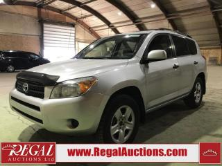 Used 2008 Toyota RAV4 LE 4D UTILITY 4WD for sale in Calgary, AB