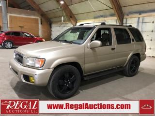 Used 2002 Nissan Pathfinder 4D Utility 4WD for sale in Calgary, AB