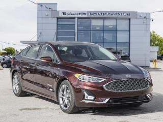 Used 2019 Ford Fusion Hybrid Titanium FORD CERTIFIED PRE-OWNED 2.9% APR for sale in Winnipeg, MB