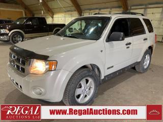 Used 2008 Ford Escape 4D Utility 4WD for sale in Calgary, AB