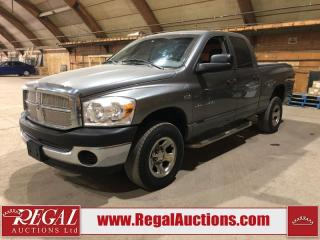 Used 2007 Dodge Ram 1500 ST 4D Crew CAB 4WD for sale in Calgary, AB