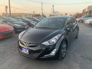 Used 2014 Hyundai Elantra Limited w/Navi for sale in Hamilton, ON