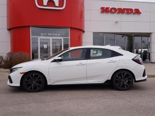 Used 2018 Honda Civic Sport Touring LOCAL TRADE, HEATED LEATHER SEATS, NAVI for sale in Winnipeg, MB