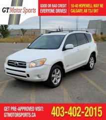 Used 2007 Toyota RAV4 Limited | $0 DOWN - EVERYONE APPROVED! for sale in Calgary, AB