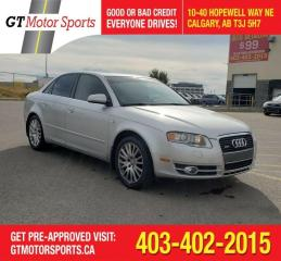 Used 2006 Audi A4 2.0T   $0 DOWN - EVERYONE APPROVED! for sale in Calgary, AB