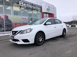 Used 2019 Nissan Sentra SV, HEATED SEATS, BACKUP CAMERA, 1 OWNER for sale in Belleville, ON