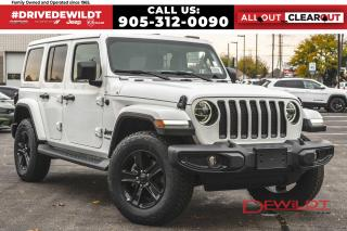 New 2021 Jeep Wrangler Unlimited SAHARA ALTITUDE | NAV + SOUND | DUAL TOPS | for sale in Hamilton, ON