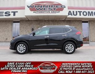 Used 2017 Nissan Rogue SV AWD, PREM & TECH PKG, HTD SEAT/NAV/ PAN ROOF for sale in Headingley, MB