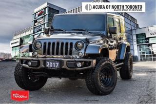 Used 2017 Jeep Wrangler Unlimited Sahara for sale in Thornhill, ON