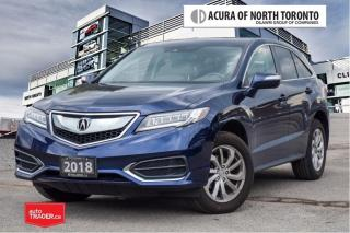 Used 2018 Acura RDX Tech at No Accident| Dealer Serviced| Remote Start for sale in Thornhill, ON