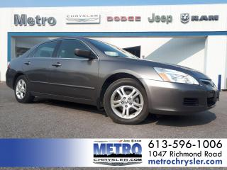 Used 2007 Honda Accord EX-L for sale in Ottawa, ON
