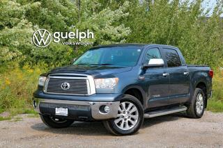 Used 2010 Toyota Tundra Crewmax 1794/Platn 4x4, Heated & Ventilated Seats, SXM for sale in Guelph, ON