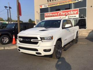 New 2021 RAM 1500 LARAMIE 4X4 / SPORT GRP/PANO ROOF/12 INCH RADIO for sale in Milton, ON