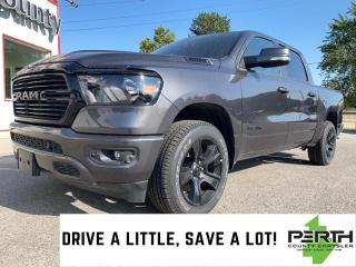 New 2020 RAM 1500 Big Horn | Night Edition | Lvl 2 | Hitch | 8.4