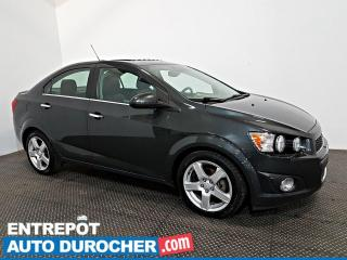 Used 2016 Chevrolet Sonic LTZ Turbo Automatique - Toit Ouvrant - A/C - Cuir for sale in Laval, QC