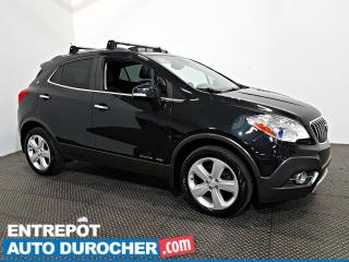 Used 2015 Buick Encore Leather AWD NAVIGATION - Toit Ouvrant - A/C - Cuir for sale in Laval, QC
