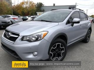 Used 2013 Subaru XV Crosstrek Limited Package LEATHER  ROOF  NAVI  HTD SEATS for sale in Ottawa, ON