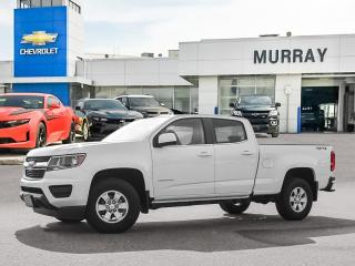 New 2021 Chevrolet Colorado 4WD Work Truck for sale in Winnipeg, MB