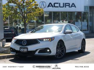Used 2019 Acura TLX 2.4L P-AWS w/Tech Pkg A-Spec Red for sale in Markham, ON