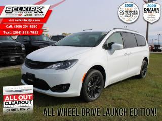 New 2020 Chrysler Pacifica Touring-L AWD Launch Edition! for sale in Selkirk, MB
