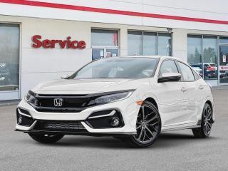 New 2020 Honda Civic Hatchback Sport 6MT for sale in Brandon, MB