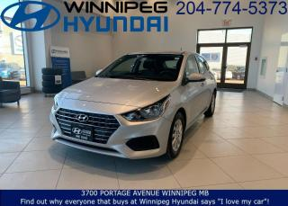 Used 2019 Hyundai Accent Preferred for sale in Winnipeg, MB