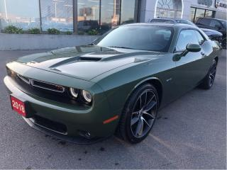 Used 2018 Dodge Challenger R/T V8 6-Speed w/Handling Pack, Driver Convenience for sale in Hamilton, ON