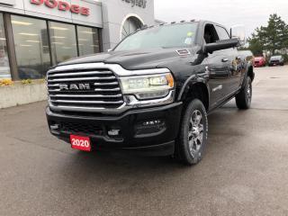 New 2020 RAM 2500 Longhorn Crew 4x4 6.7L Diesel for sale in Hamilton, ON