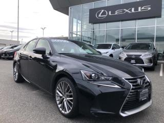Used 2017 Lexus IS 300 AWD / Luxury PKG, NO Accidents, Local, ONE Owner for sale in North Vancouver, BC