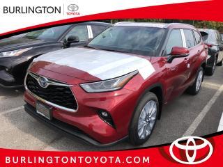 New 2021 Toyota Highlander for sale in Burlington, ON