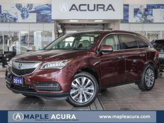 Used 2015 Acura MDX Navigation Package for sale in Maple, ON