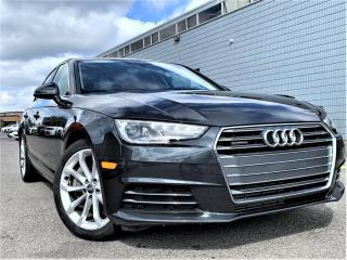 Used 2017 Audi A4 NAVIGATION|HEATED SEATS|SUNROOF|APPLE CARPLAY|ALLOY for sale in Brampton, ON