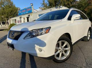 Used 2010 Lexus RX 350 AWD 4dr*Ultra premium with Navi back up cam wood grain for sale in Brampton, ON