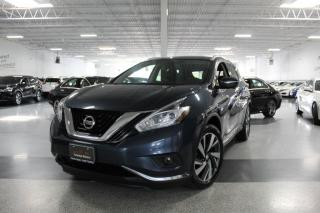 Used 2015 Nissan Murano PLATINUM AWD NO ACCIDENTS I NAVIGATION I LEATHER I PANOROOF for sale in Mississauga, ON