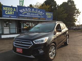 Used 2017 Ford Escape SE for sale in Oshwa, ON