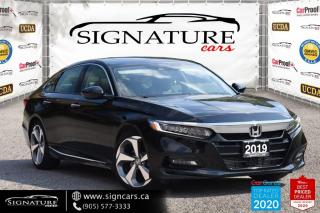 Used 2019 Honda Accord Sedan Touring 2.0 Auto. NO ACCIDENT. HEADS UP DISPLY. NAV. for sale in Mississauga, ON