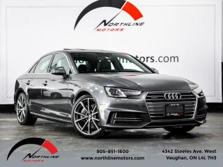 Used 2017 Audi A4 2.0 TFSI|Quattro|Premium Plus|S-Line|Navigation for sale in Vaughan, ON
