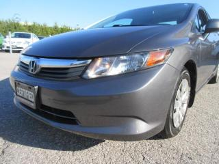 Used 2012 Honda Civic 4dr/ACCIDENT FREE for sale in Newmarket, ON
