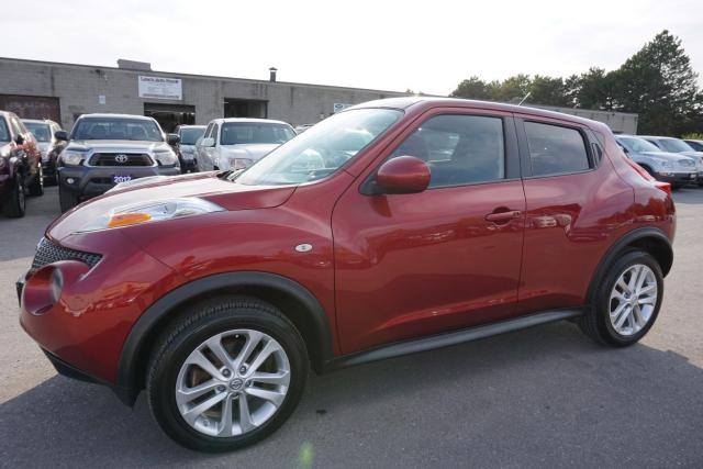 2013 Nissan Juke SV TURBO 6SPD CERTIFIED 2YR WARRANTY *1 OWNER*FREE ACCIDENT* BLUETOOTH CRUISE ALLOYS