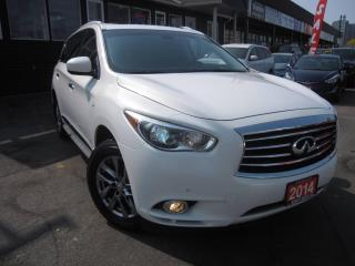 Used 2014 Infiniti QX60 7-PASSANGER, AWD, NAVI, SUN-ROOF, B-CAM 7-PASSANGER, NAVI, ROOF, BACK-UP CAMERA for sale in Scarborough, ON