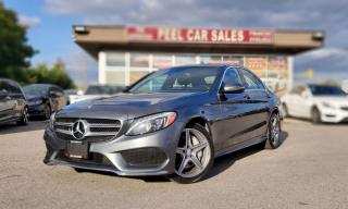Used 2017 Mercedes-Benz C-Class C300|TEXT.US|647.678.7778| NAVI|PANOROOF|LEATHER|REARVIEW| for sale in Mississauga, ON
